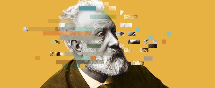 Julio Verne. Fuente: Espacio Fundación Telefónica.