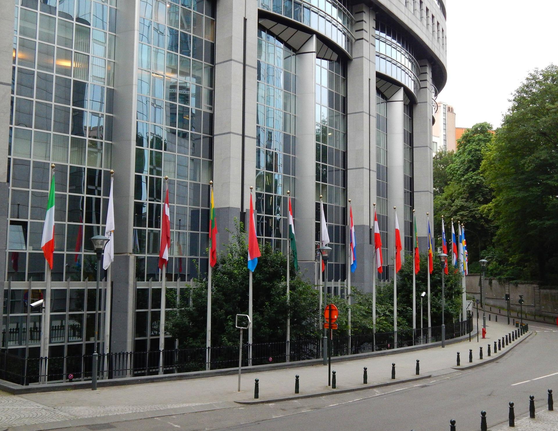 Sede del Parlamento Europeo. Foto: SarahHammo.