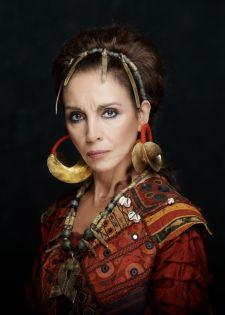 Ana Belén, en el papel de Medea. Fuente: Teatro Español.