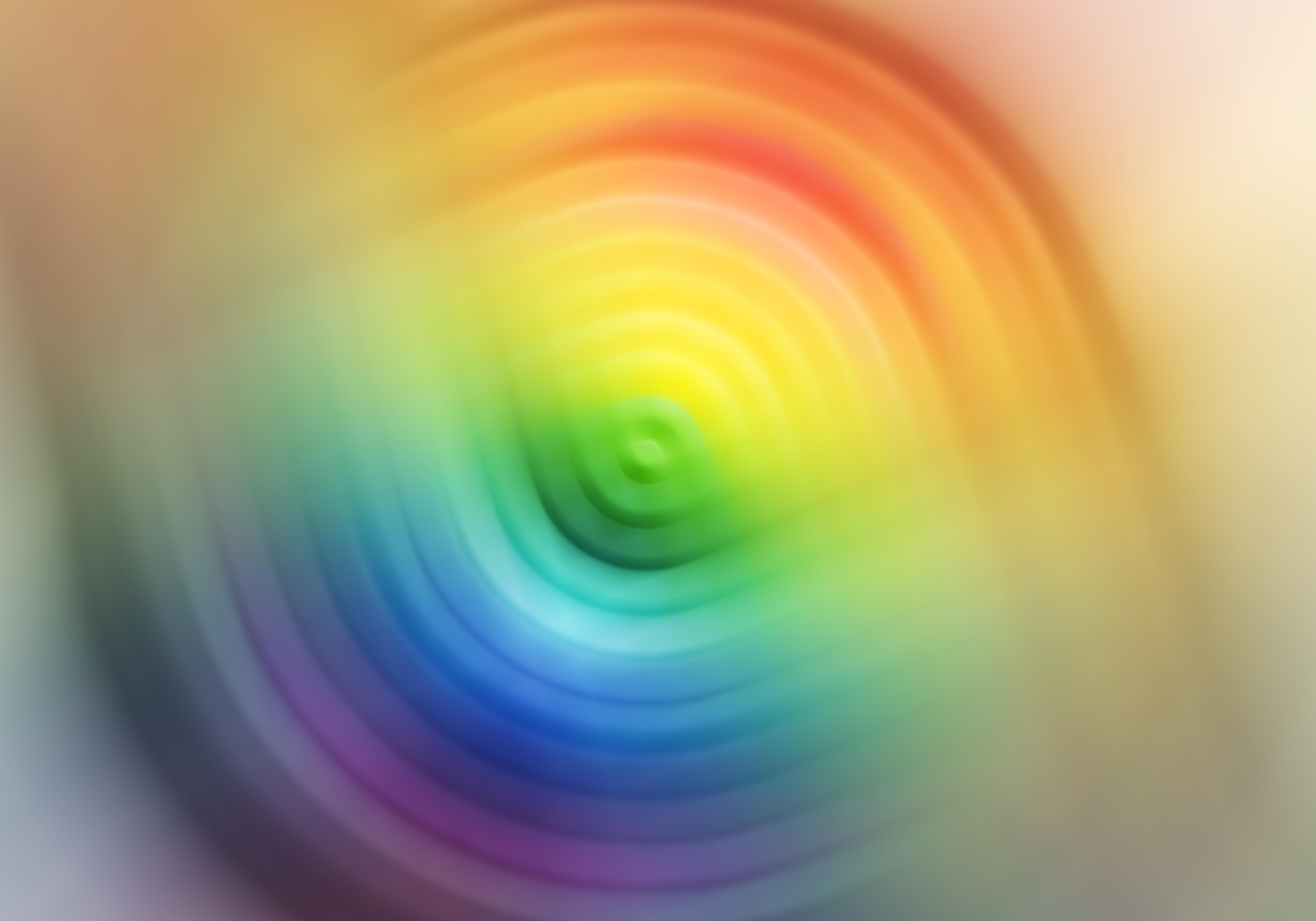 El espacio-tiempo forma una especie de arco iris, según la Universidad de Varsovia. Imagen: Aurelio Scetta. Fuente: Free Images.