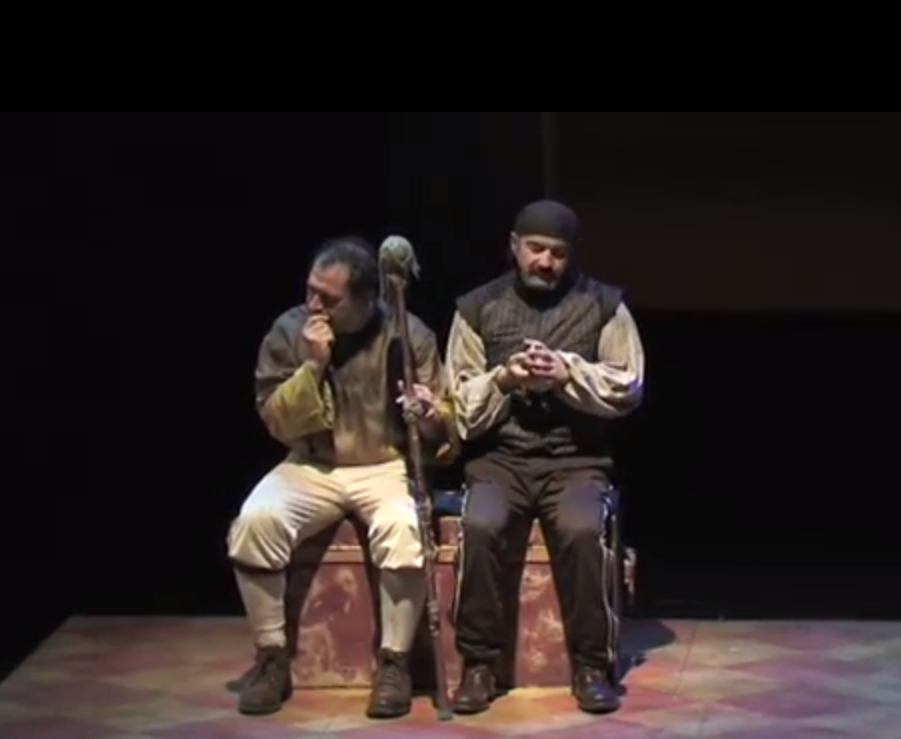 Momento de la representación. Fuente: Teatros del Canal.