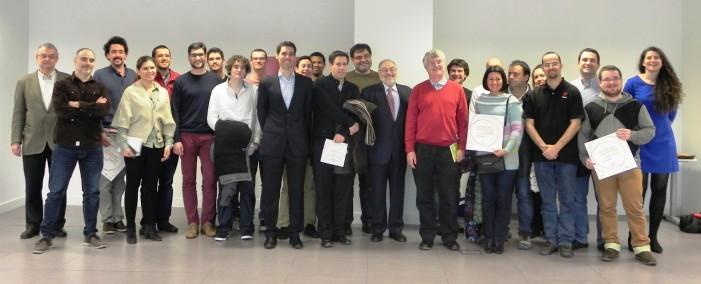 Equipos seleccionados en la primera fase de actúaloop. Fuente: UPM.