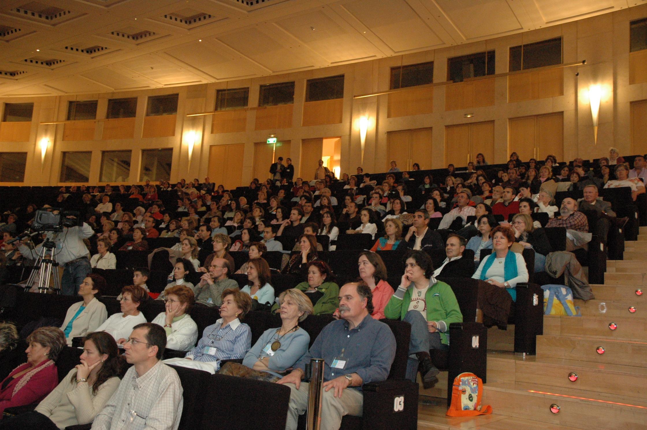 Momento del congreso de 2007. Foto: Fundación Valores