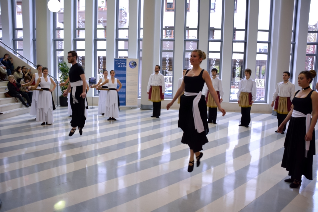Dinámica artística Algara dantza taldea. Foto: Alberto Robles. Fundación Valores.