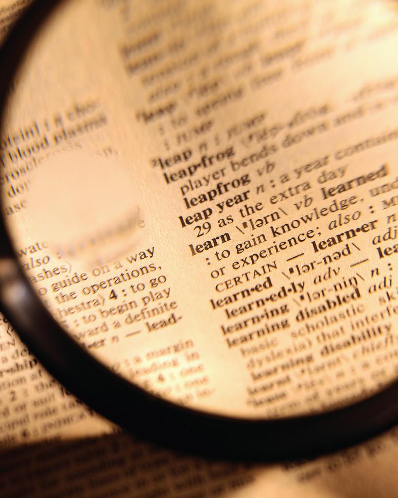 Los diccionarios reflejan la gestión cerebral del léxico