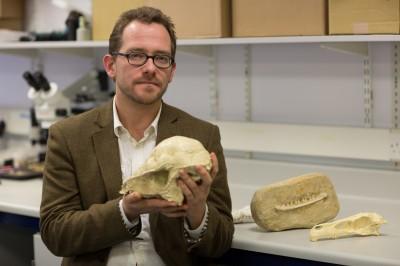 Dr Nick Longrich. Fuente: Universidad de Bath.