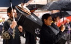 Marcha fúnebre en Madrid por la extinción de las especies
