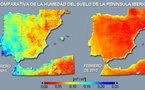 Primeros mapas de humedad del suelo en alta resolución