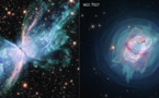 Dos nebulosas planetarias desvelan sus secretos