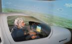 Siete pilotos aterrizan aviones con la mente, en vuelos simulados