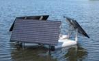 Una boya de ultrasonidos limpia lagos en Polonia, Estados Unidos y Japón