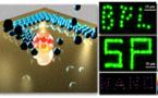Burbujas-boli para escribir con nanopartículas