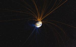 El campo magnético de la Tierra está disparado