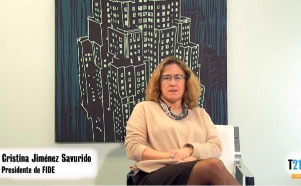 Cristina Jiménez: La Justicia debe acometer cambios importantes