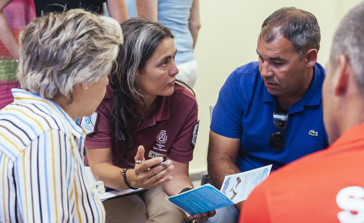 Imagen de un proceso participativo realizado por Genea Consultores