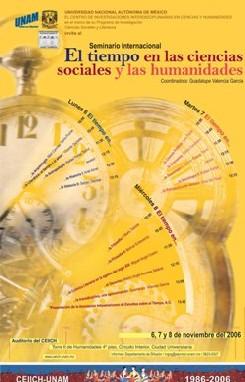Seminario Internacional: El tiempo en las ciencias sociales y las humanidades